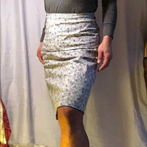 GAP floral pencil skirt